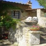 Esterno dell'appartamento Le Cime in Umbria